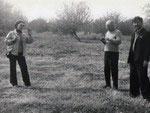 Маршрут по Санзару. 1979. Н.Б.Немцева, Б. В. Андриянов, водитель Мирза Усманов.