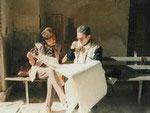 Шахи-Зинда, 1996. Немцева Н.Б. и С. Хмельницкий